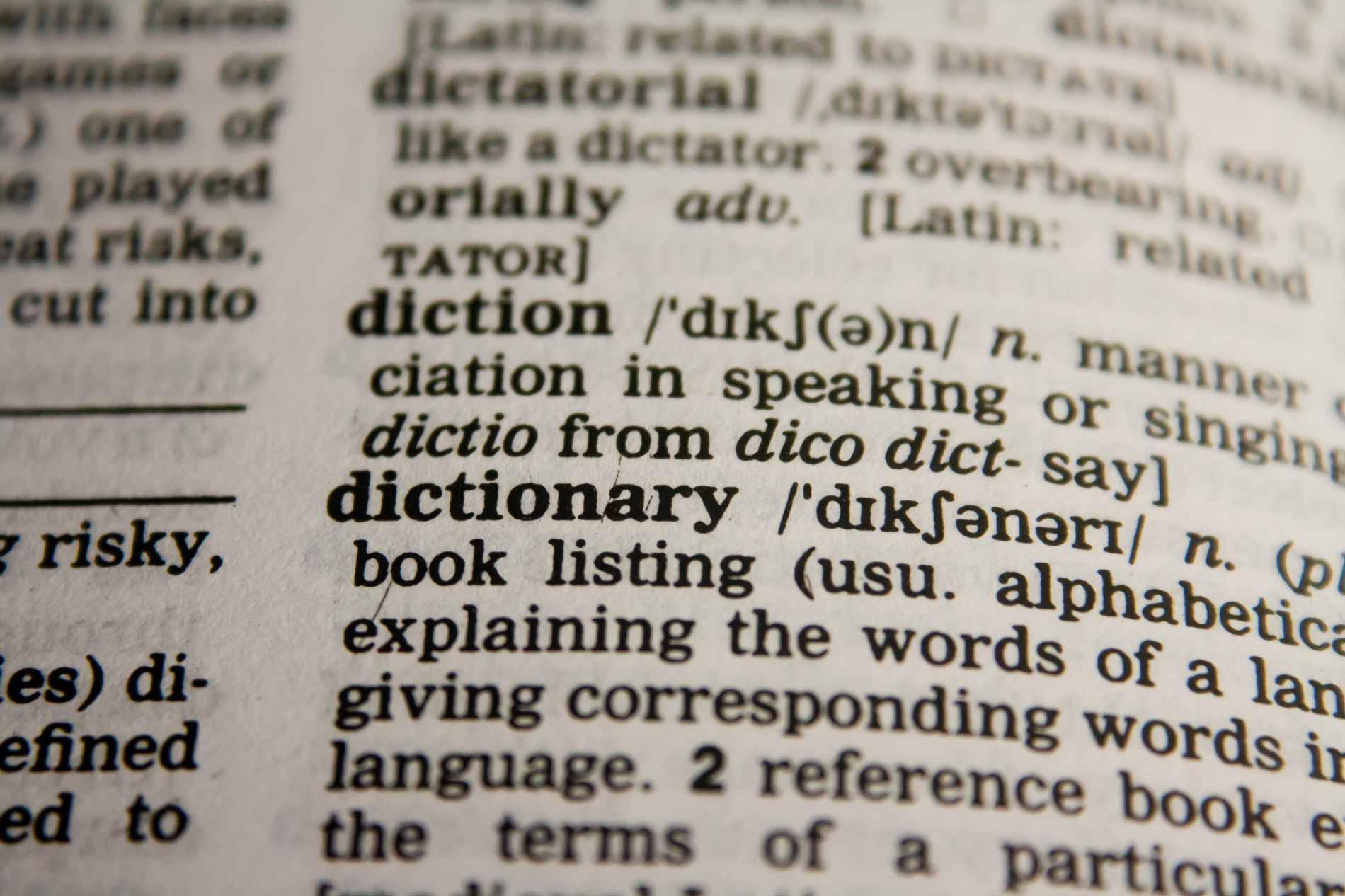 English vocabulary practice