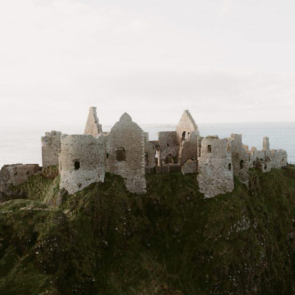 Ruinas antiguas en Irlanda